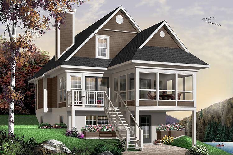 Basement House Plan 034