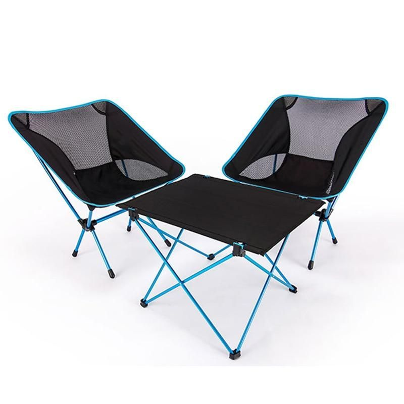 Portable Foldable Folding Diy Table Chair Desk Camping Bbq Hiking