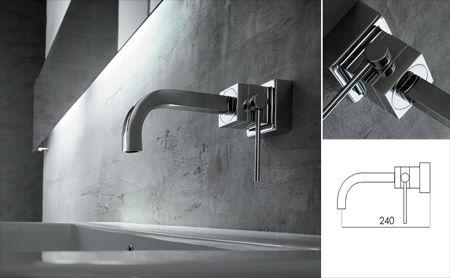 Yukon Sink Mixer - Gooseneck Outlet Bathroom Ideas Pinterest - mitigeur mural salle de bain