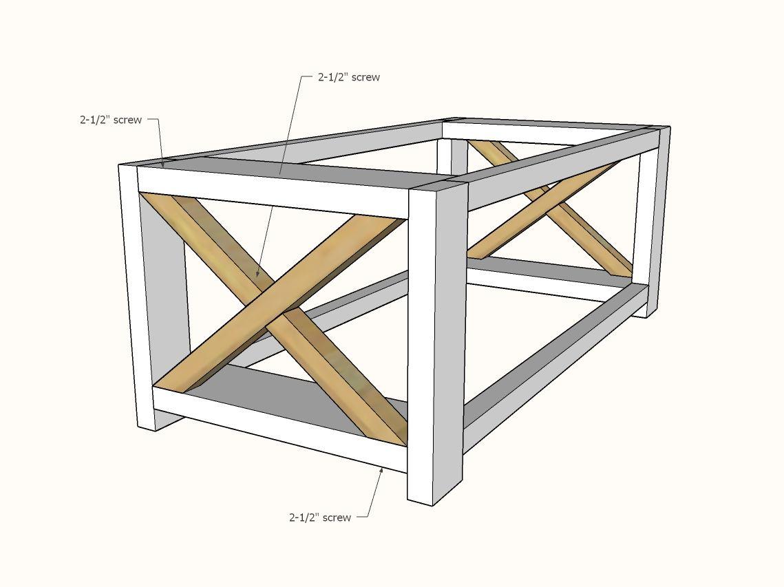 Farmhouse coffee table beginnerunder 40 coffee table