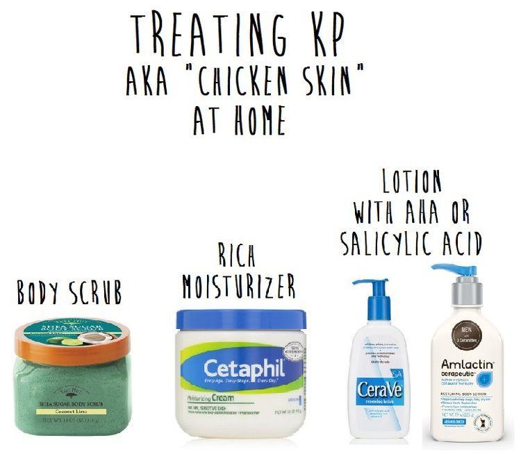 Treating Kp Aka Keratosis Pilaris Chicken Skin Remedy Bumpy Skin