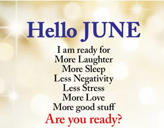 Hello June Images Pictures Photos Wallpapers for Facebook