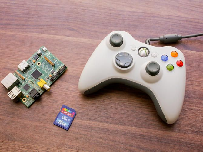 Create a retro game console with the Raspberry Pi