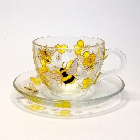 Bee & Beehive Things We LOVE - Super Cute Tea Cups & Saucers