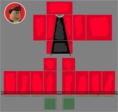 Roblox Skins Red Shirt Template Roblox Shirt Roblox Shirt Template
