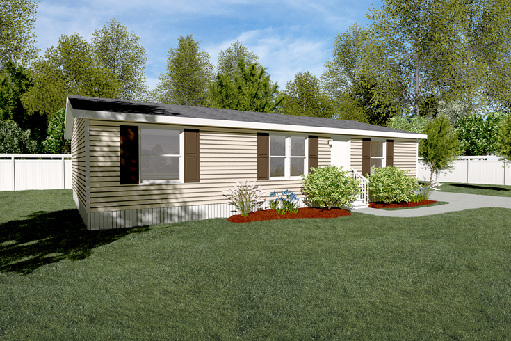The The Pacman Exterior This Manufactured Mobile Home Features 3 Bedrooms And 2 Baths Modular Home Builders Mobile Home Exteriors Mobile Home Doublewide