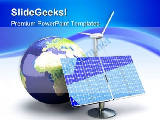Alternative Energy Global Powerpoint Templates And Powerpoint