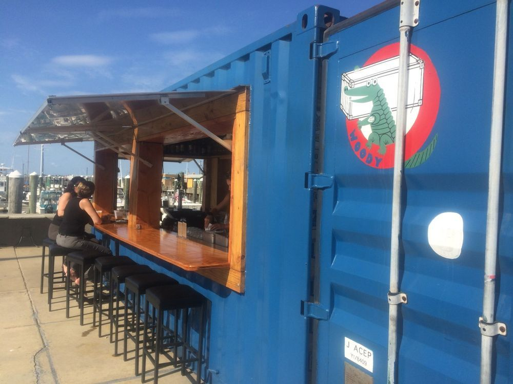 20 Ft Cargo Shipping Container Bar Belize Biz