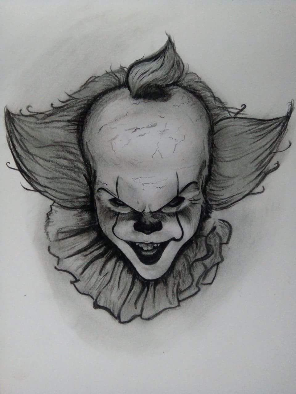 How To Draw A Killer Clown : killer, clown, Foxy298