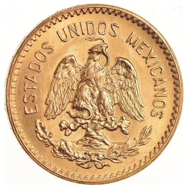 Mexican 10 Peso Gold Coin 2411 Ounces