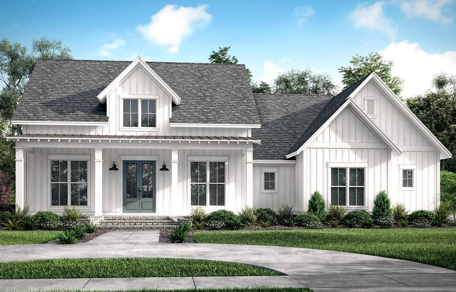 Hope Df House Plan House Plan Zone In 2020 Craftsman Style House Plans Modern Farmhouse Plans Farmhouse Plans