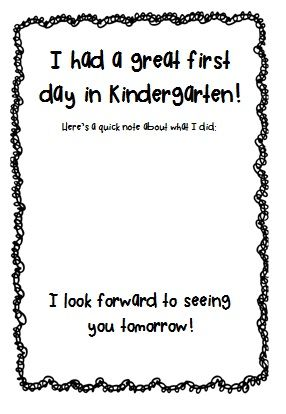 Kindergarten FREEBIE thanks to PreK+K Sharing and Simply