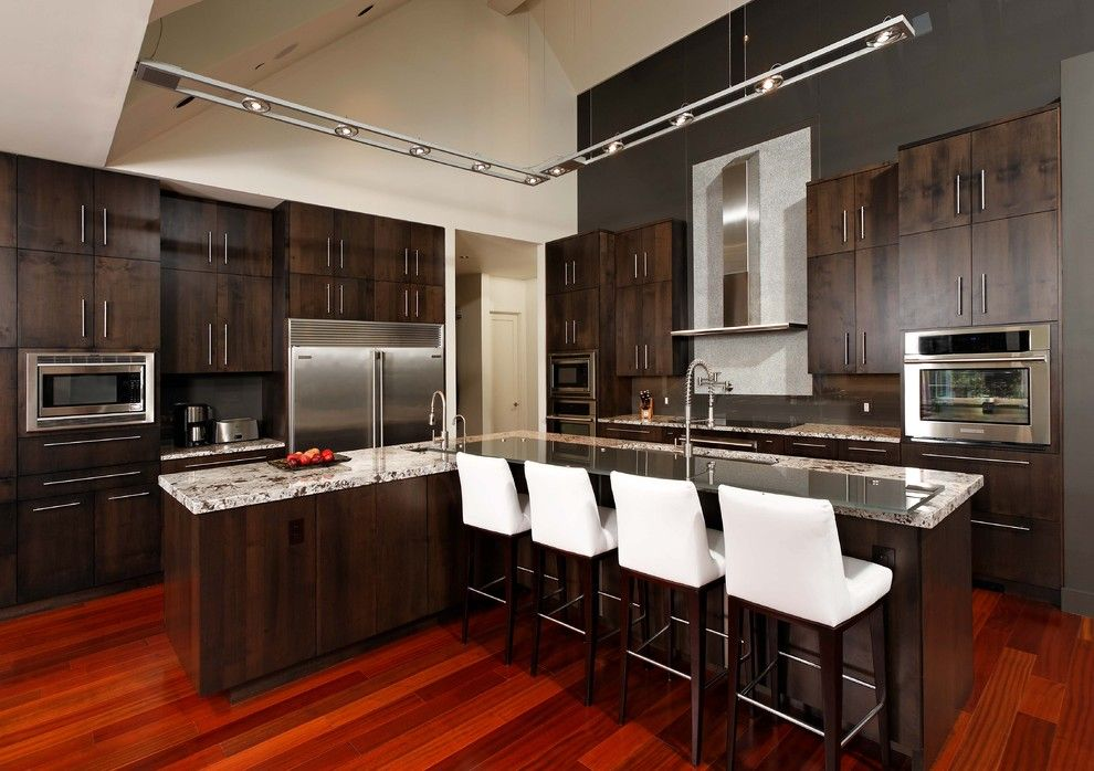 Modern Cherry Wood Kitchen Cabinets  Kitchen  Pinterest  Cherry Adorable Cherrywood Kitchen Designs Inspiration Design