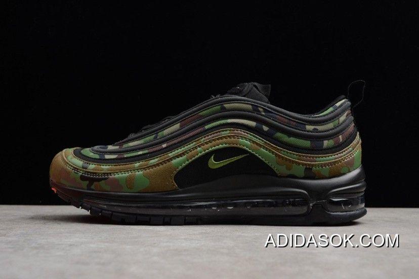 """Desconto Nike Air Max 97 """"Country Camo Camo Camo Pack"""" Japan Pale Olive/Preto e3effc"""