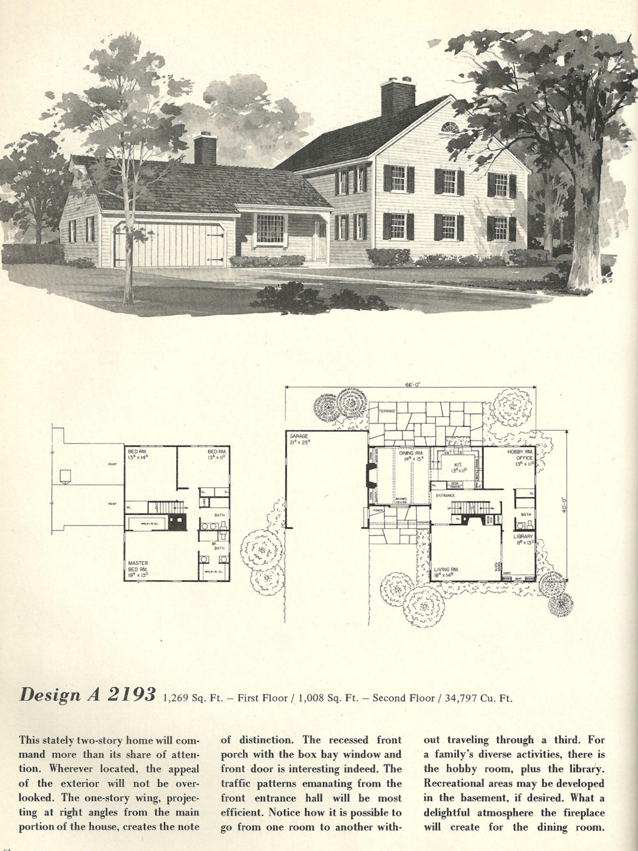 vintage house plans 2193 vintage house plans ranch