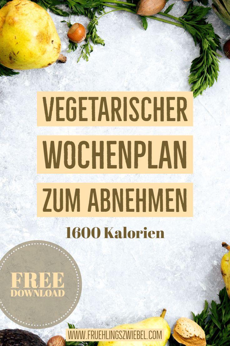 Photo of Kostenloser Wochenplan zum Abnehmen – vegetarisch