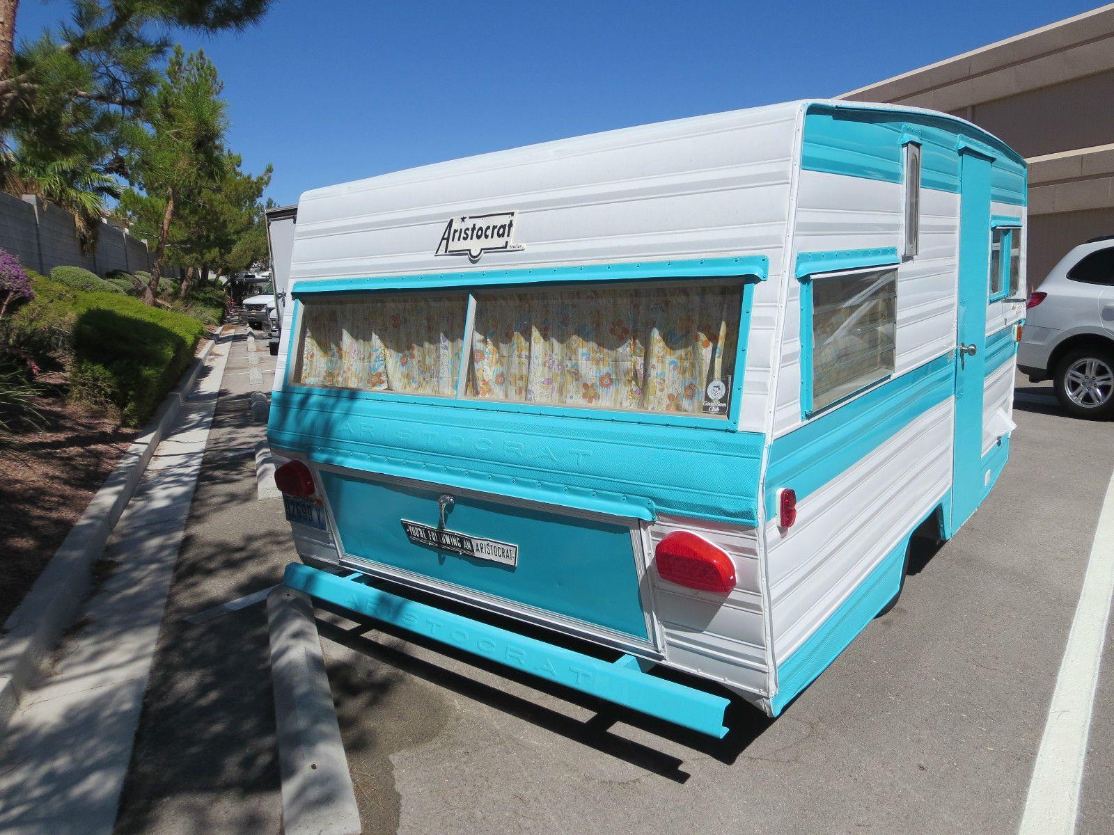 Aristocrat lo liner travel trailer 15 039 1969 ebay