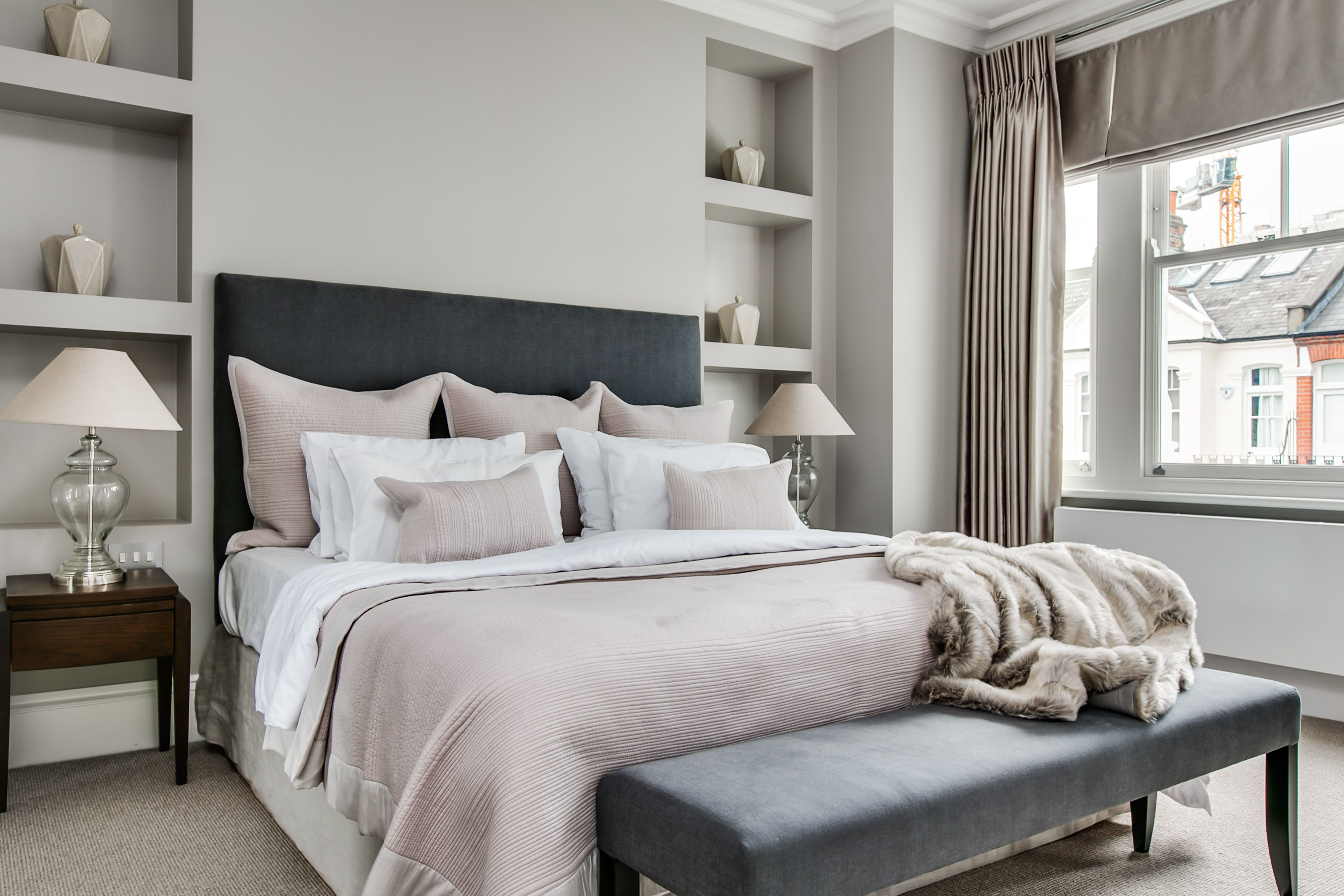 London Home Staging Parsons Green Luxury Master Bedroom