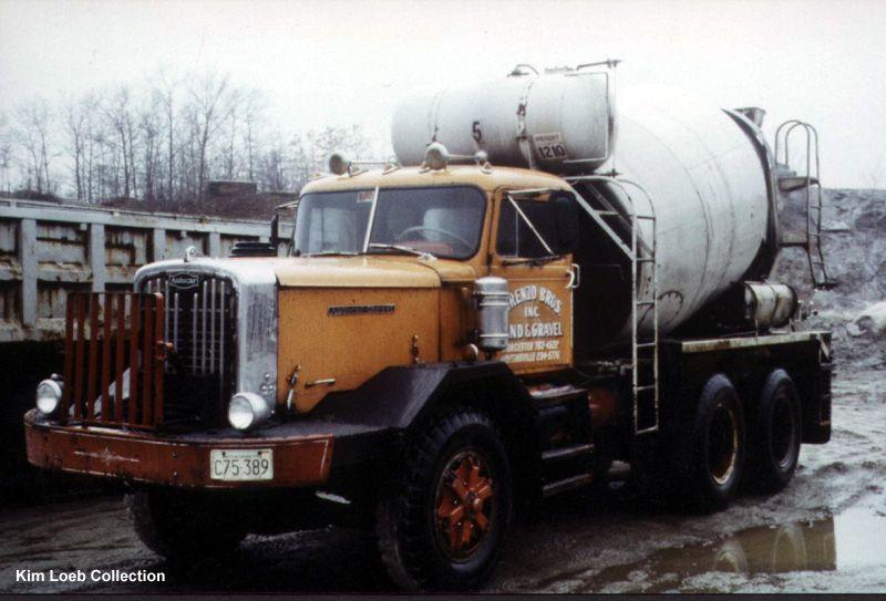 Autocar Mixer truck, Cement mixer truck, Concrete truck