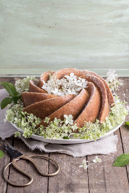 Decoraç u00e3o de bolos com flores de verdade FOOD Receitas de sobremesas, Bolo com flores, Bolo -> Decoração De Bolo Com Flor Natural