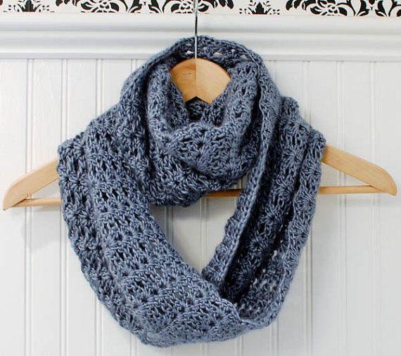 Crochet Pattern - Mobius Infinity Scarf / Wrap Pattern (includes ...