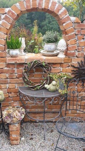 Im Garten… – Mauer - Vorgarten ideen #vorgartenideen