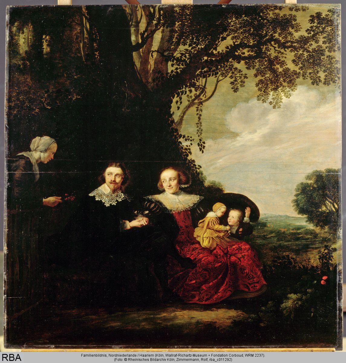 Family portrait, Haarlem, 1632