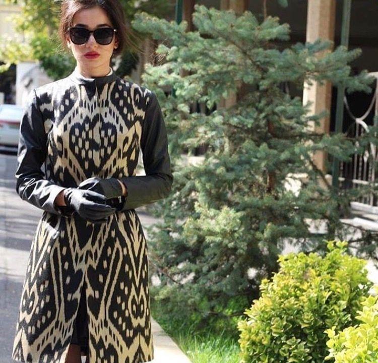 b592b893588 Uzbek adras Uzbekistan fashion адрас