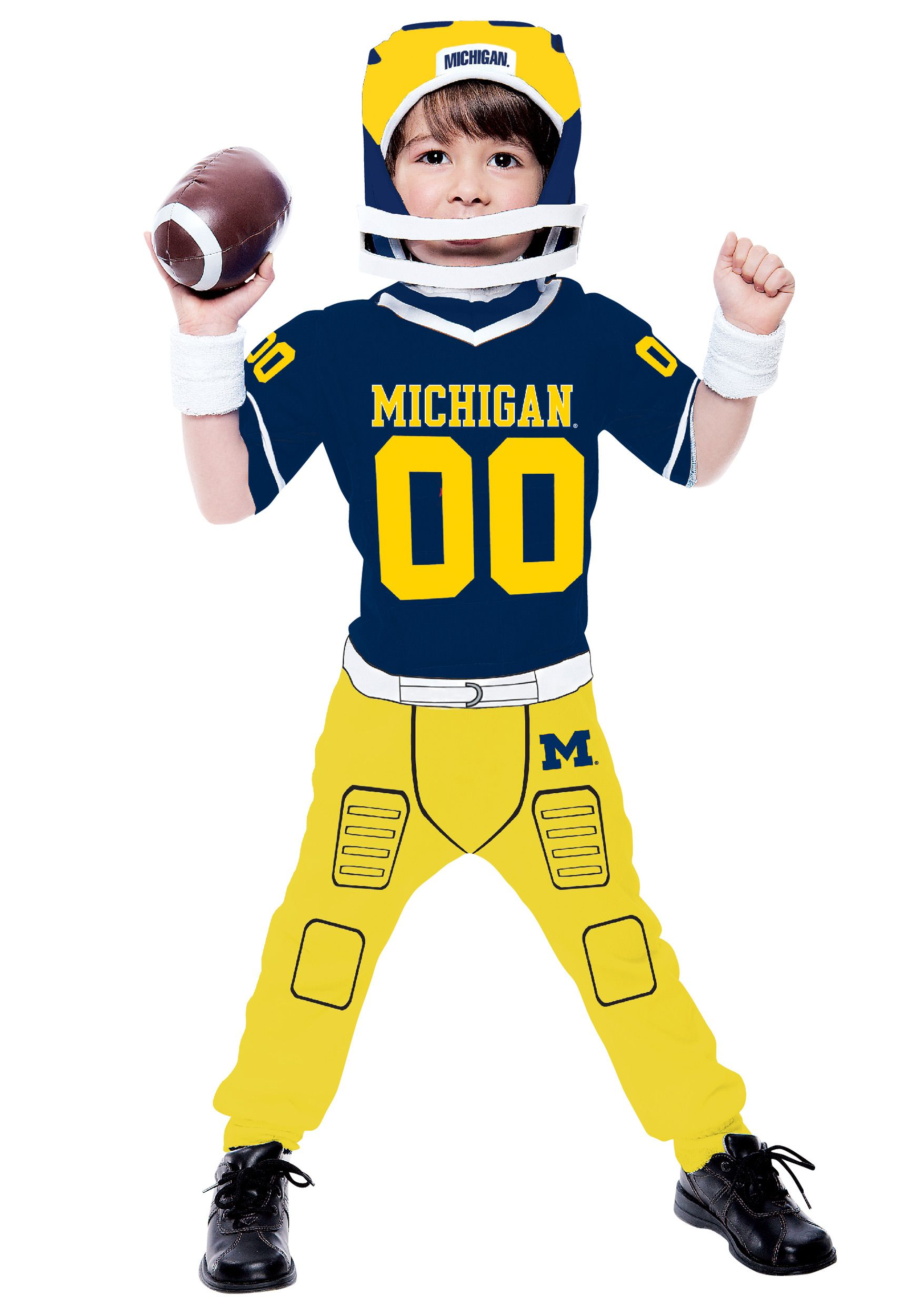 toddler university of michigan football costume - Halloween Costume Football