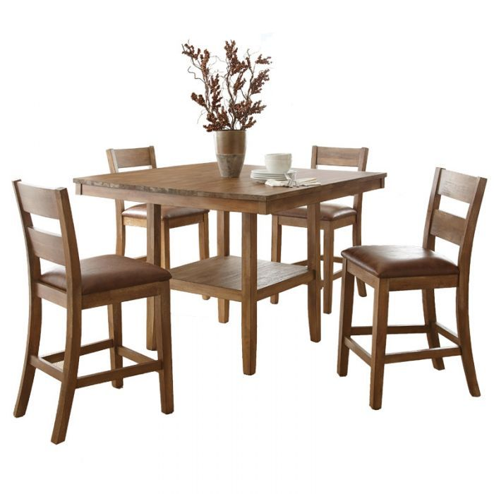 Cambrey 5 Piece Counter Height Dining Set | Weekends Only Furniture And  Mattress