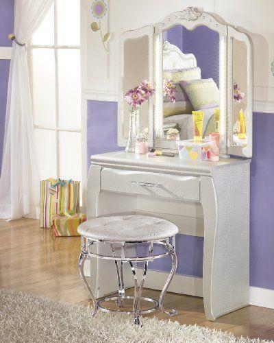Pin By Furnituremaxx On Kids Room Silver Vanity Dresser With Mirror Furniture