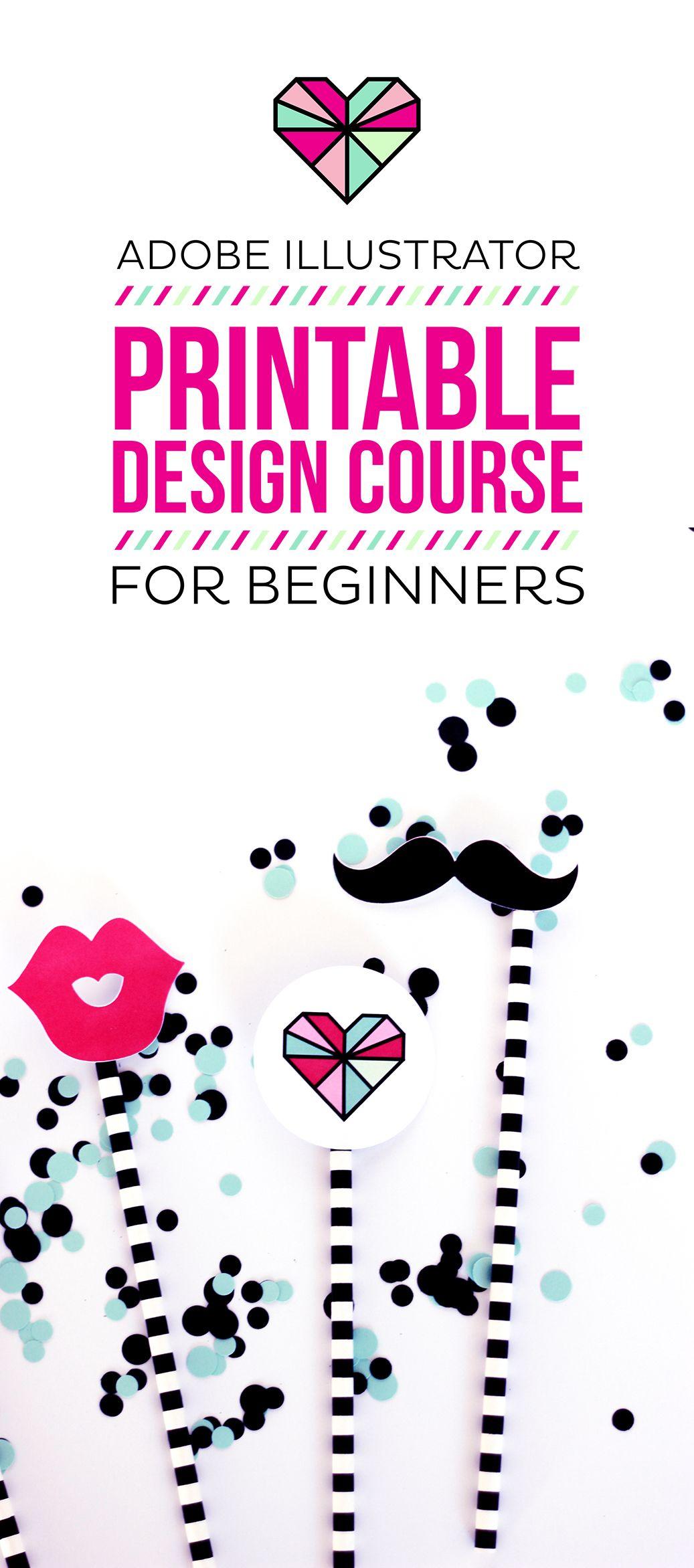 Learn To Design Printables In Adobe Illustrator
