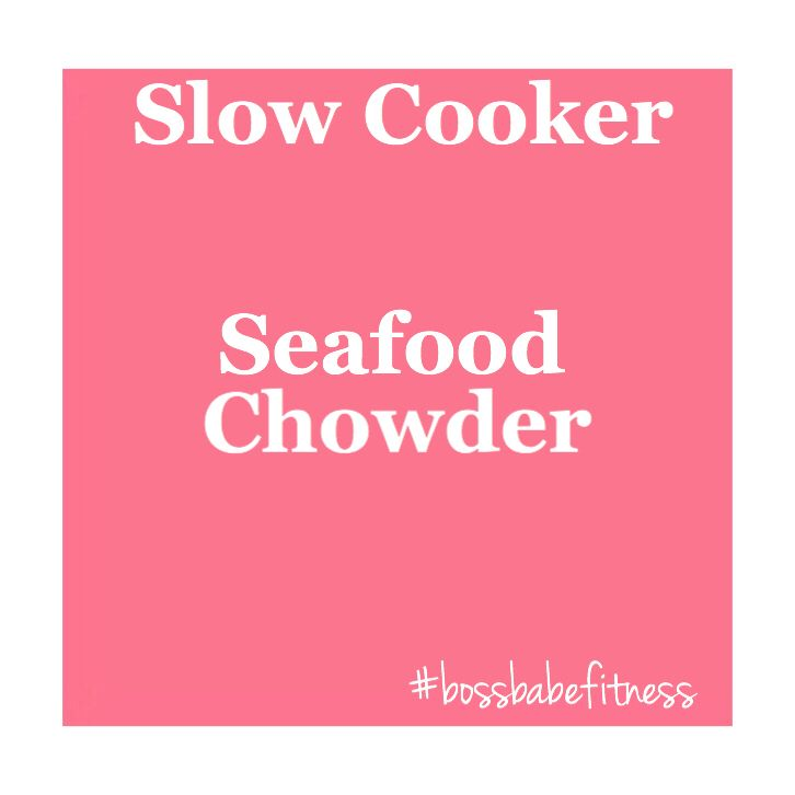 Score this yummy, healthier, recipe here! --->  https://www.uhc.com/health-and-wellness/healthy-recipes/slow-cooker-recipes/new-england-seafood-chowder