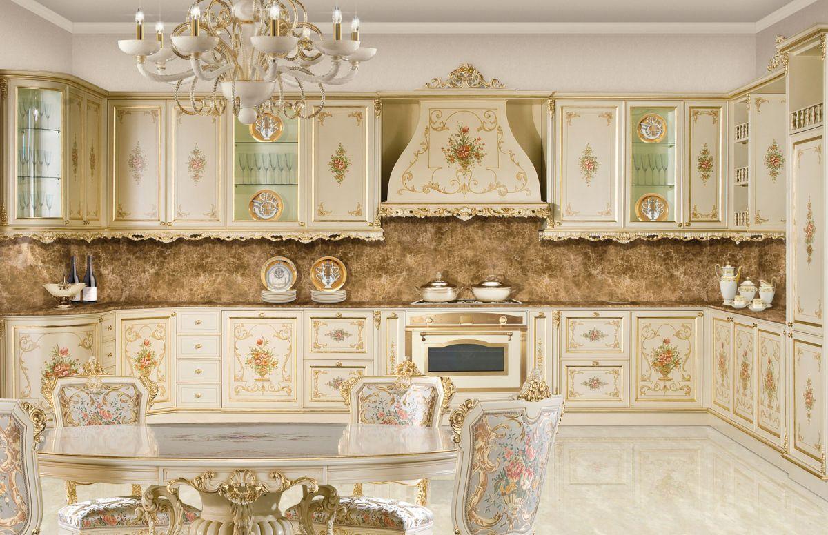 Cuisine de style / en bois laqué FRATELLI RADICE  Deco baroque