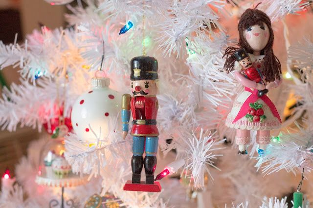 The Nutcracker Christmas tree ornaments