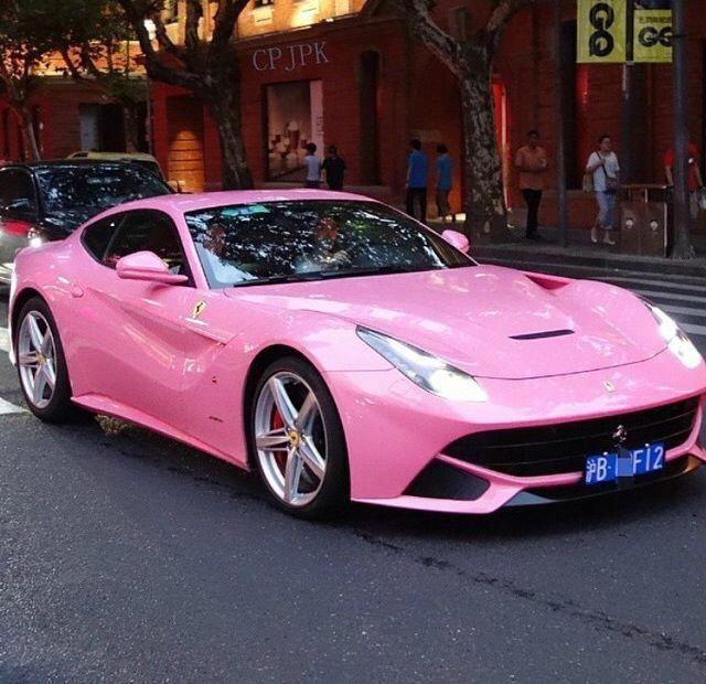 Pink Ferrari WOW!!! #TheFast&theLuxurious #newsportscars,luxurysportcar,newsportscars,nicesportscars,sportscarsbeautiful,supersportcar,bestsportscars,exoticcars,exoticcarsdreams,fastsports #pinkferrari