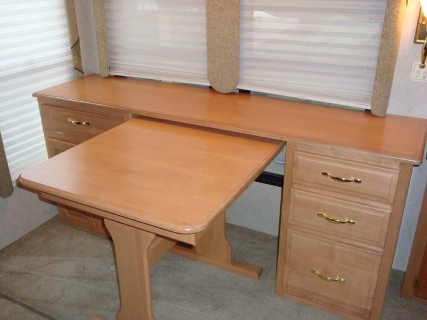 Great Credenza U0026 Table For The RV