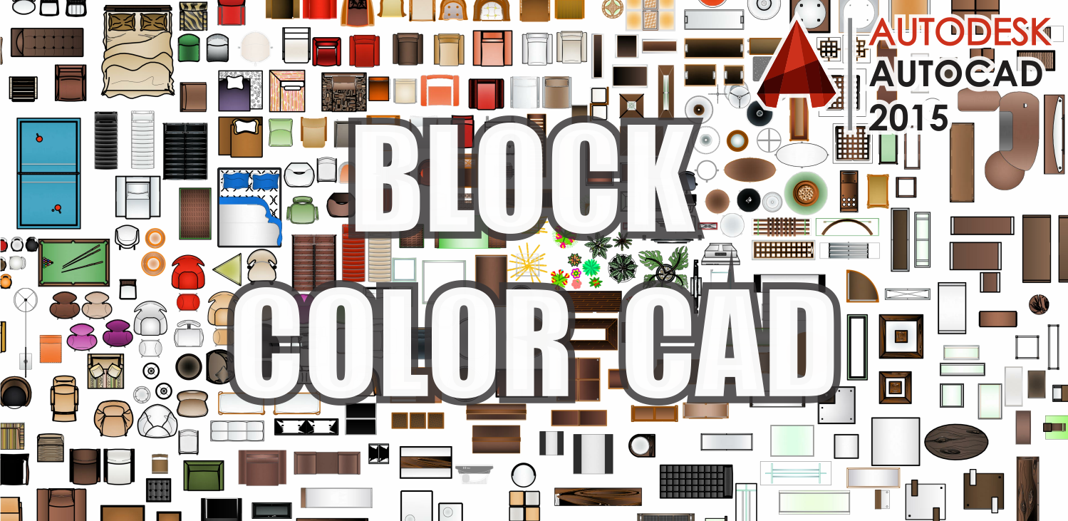 ZENT Design 2D BLOCK COLOR AutoCAD Blocks