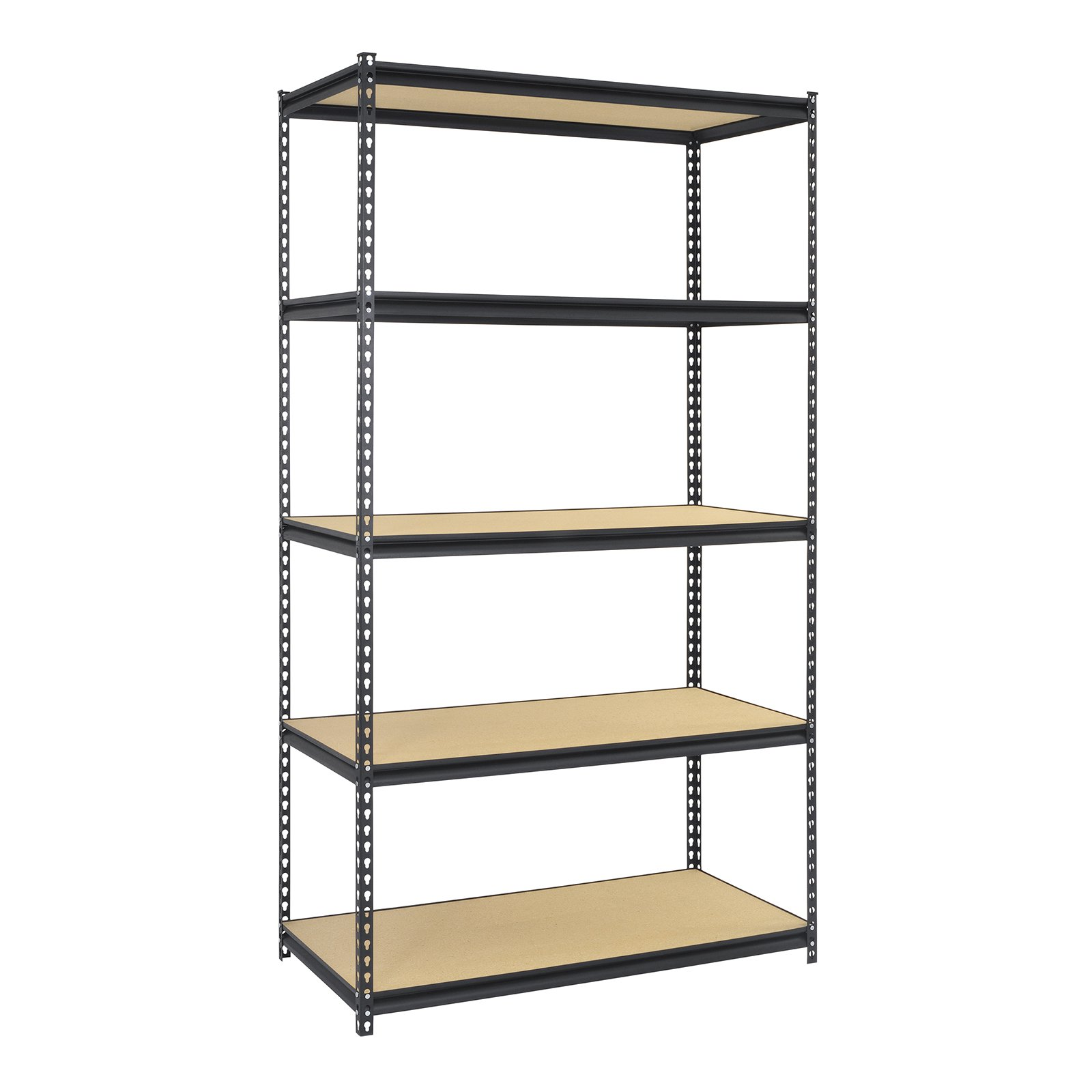 Muscle Rack 5 Shelf Storage Rack Steel Shelving Unit Steel