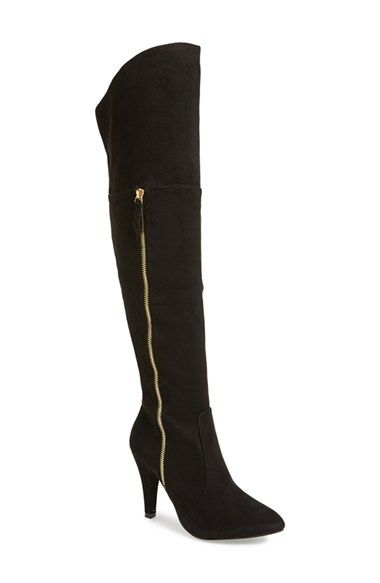 N.Y.L.A. 'Ashira' Over the Knee Boot (Women) available at #Nordstrom