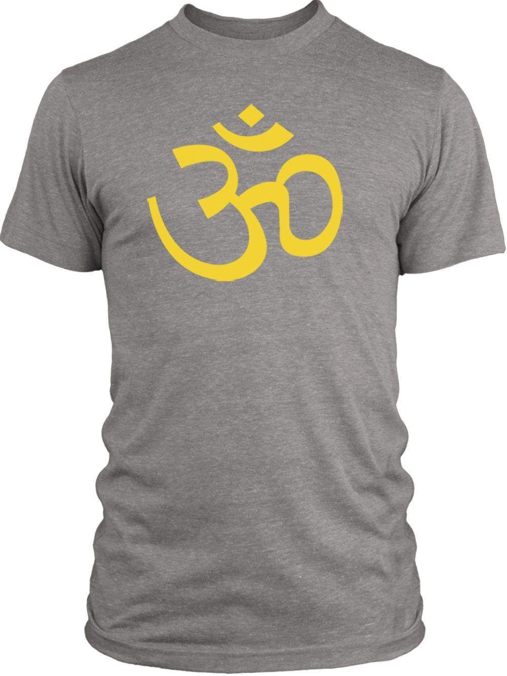 Big Texas Golden Om Symbol (Yellow) Vintage Tri-Blend T-Shirt