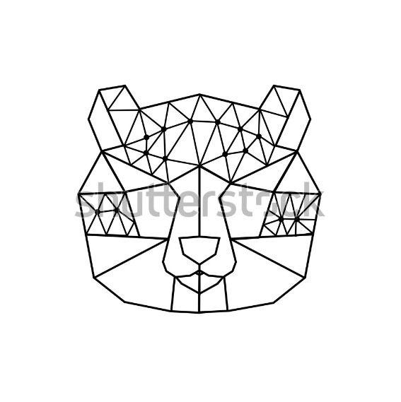 polygonal bear