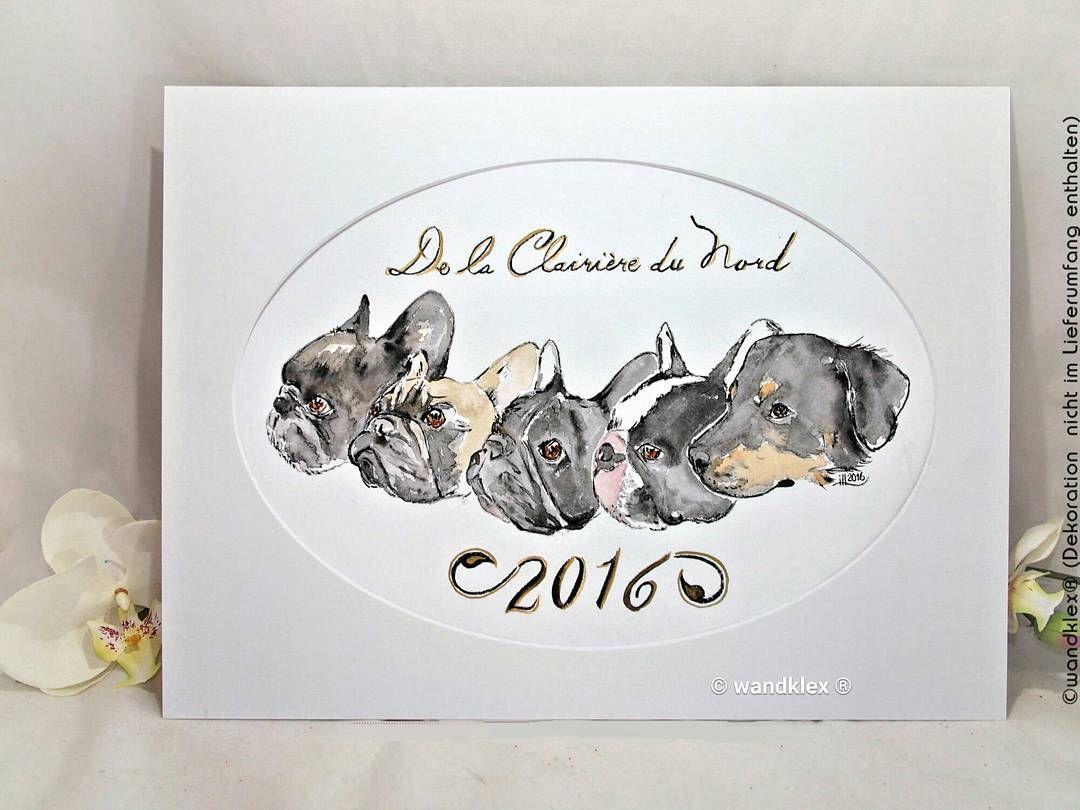 2016 war nicht nur schlecht das Jahresbild für die Schweizer Bullieschmiede nord-bullys.ch hat auf alle Fälle für ganz viel Freude gesorgt! Charmanterweise darf ich für die Clairière du Nord alle Jahre ein Werk mit dem aktuellen Rudel malen schöne Idee wie ich finde! Habt ihr auch Traditionen die sich jährlich wiederholen?  Fast so als würde man von seinen Kindern jedes Jahr eine ewige Erinnerung als Momentaufnahme schaffen. <3  Gemalt mit Schmincke Künstlerfarben Horadam auf @hahnemuehle…