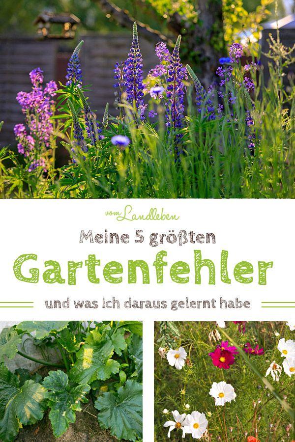 Mach nicht diese 5 Gartenfehler! | vom Landleben