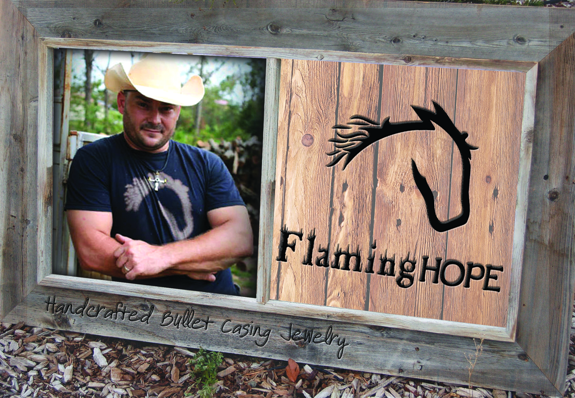 Flaming Hope Handcrafted Bullet Jewlery