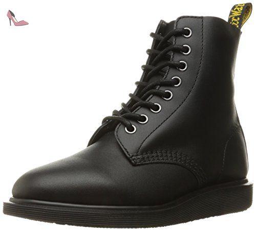 Dr MARTENS NEWTON NOIR Boots 1460 Bottines Femme Black Shoes 21856001
