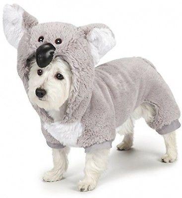 Zack And Zoey Koala Dog Costume X Small Pet Halloween Costumes