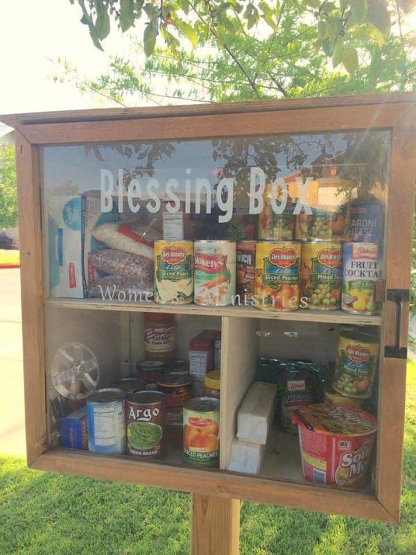 Little Free Pantries Allow Communities To Lend Neighbors A Helping