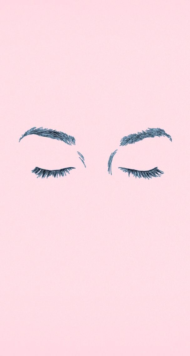 Eyebrows Iphone Wallpaper Tumblr Pink Pastel Wallpaper