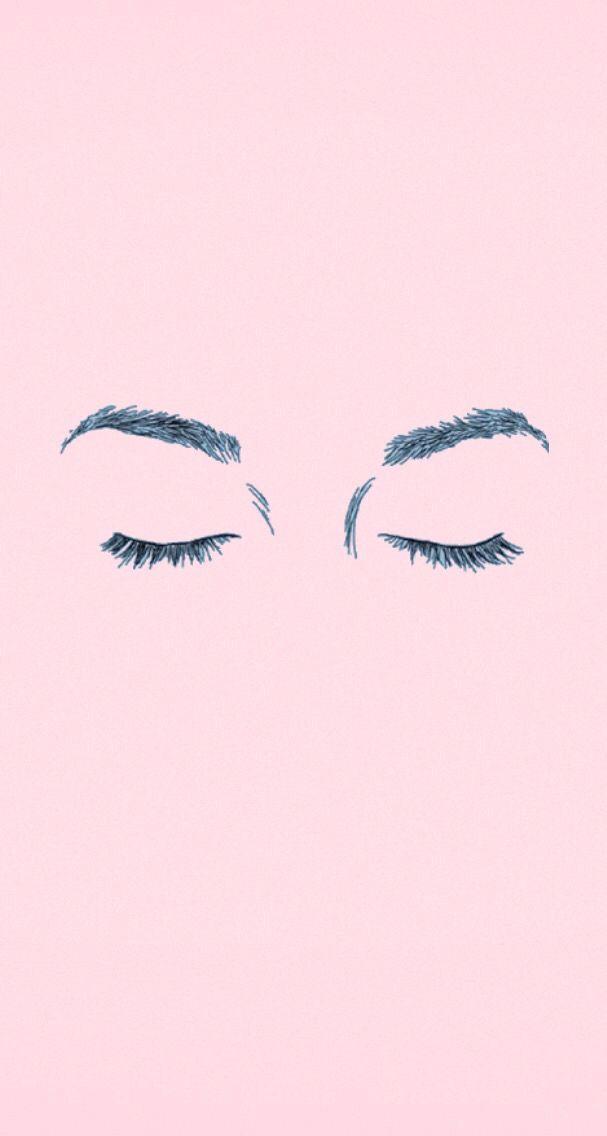 Eyebrows Iphone Wallpaper Tumblr Pink Pastel Pastel Pink Wallpaper Wallpaper Tumblr Lockscreen Pink Wallpaper Iphone